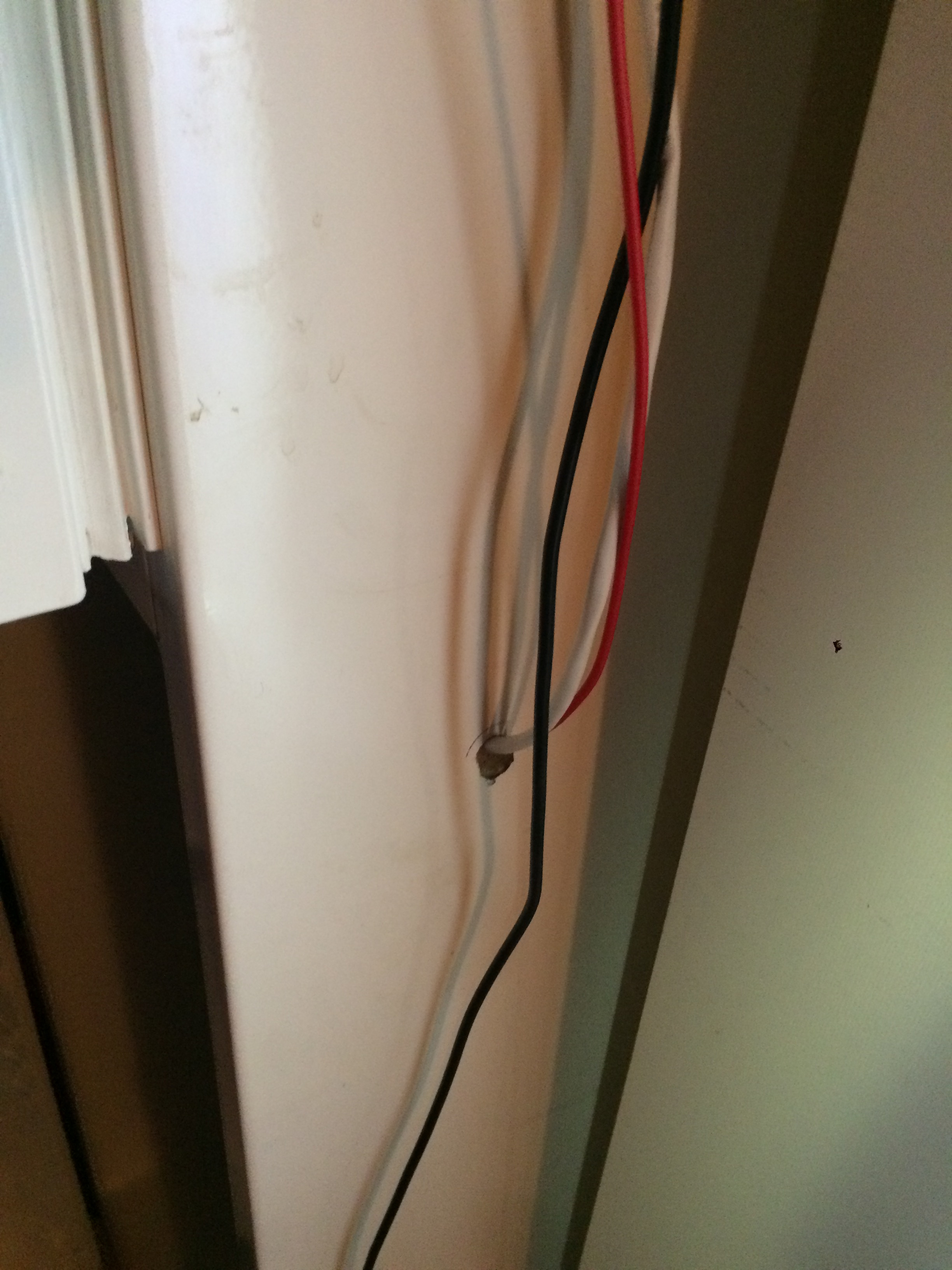 Interfacing Stc 1000 Temperature Controller General Brewpi Community Wiring Metal Back Box A Wire Through The Wall Old Simple Fridge With All Cooling Open In And No Danger Of Liquid Wakk