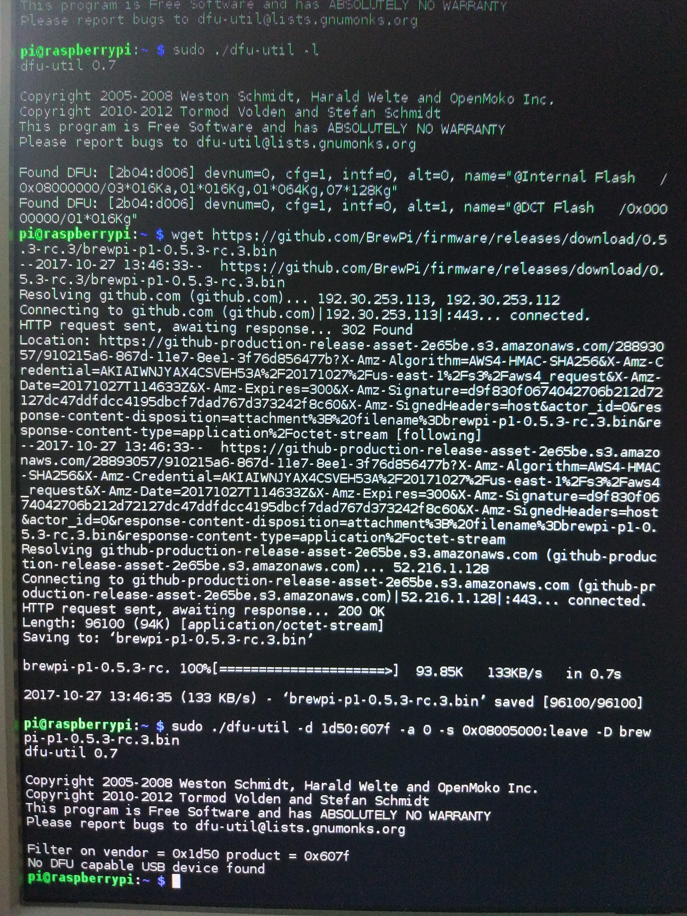 White screen Brewpi - Troubles after moving to docker