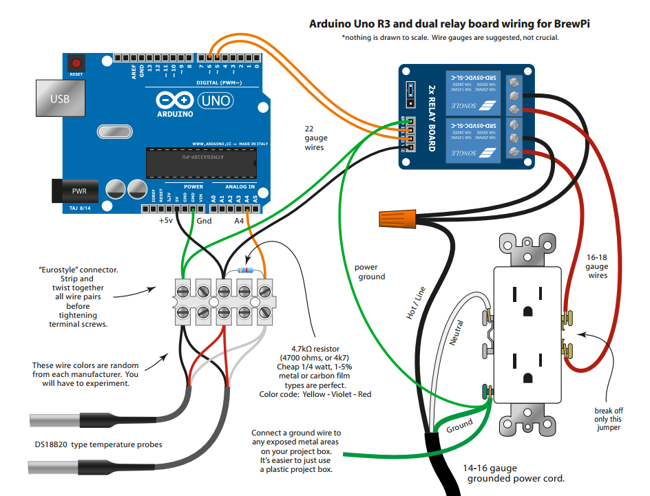 Arduino Uno Shield correct schematic - Hardware - BrewPi ... on